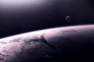 space, Artwork, Planet