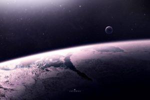 space, Artwork, Planet
