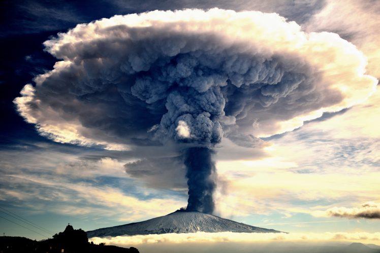 volcano, Eruptions, Nature HD Wallpaper Desktop Background