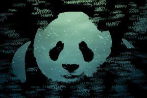 happy, Panda