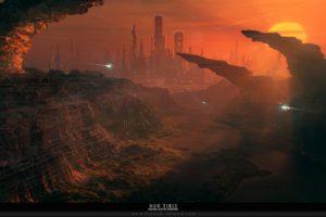 science fiction, Cityscape
