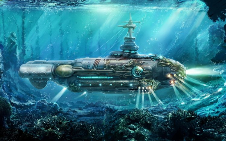Nautilus Submarine HD Wallpaper Desktop Background