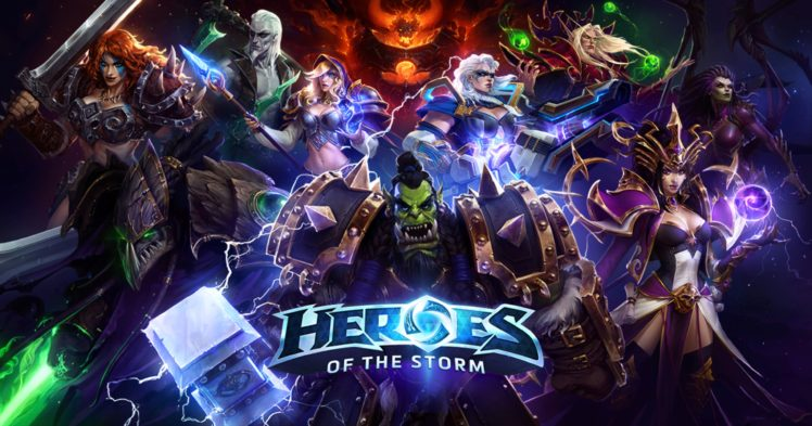 heroes of the storm wallpaper  Blizzard Entertainment, Heroes of the storm HD Wallpapers / Desktop ...