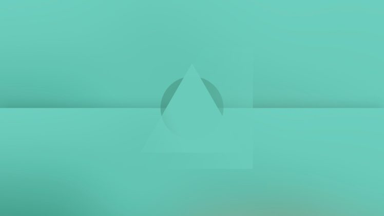vector, Minimalism, Blue, Abstract HD Wallpaper Desktop Background