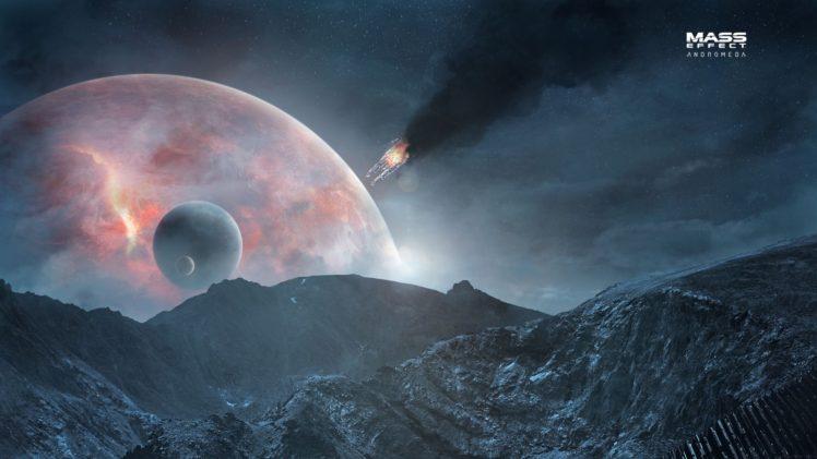 Mass Effect: Andromeda, Andromeda Initiative, Video games HD Wallpaper Desktop Background