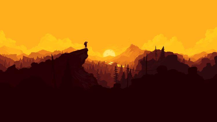 landscape, Mountain pass, Firewatch HD Wallpaper Desktop Background