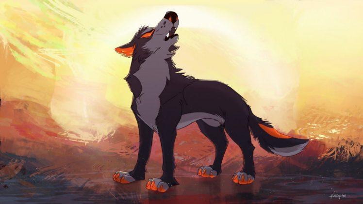 feral, Animals, Wolf HD Wallpaper Desktop Background