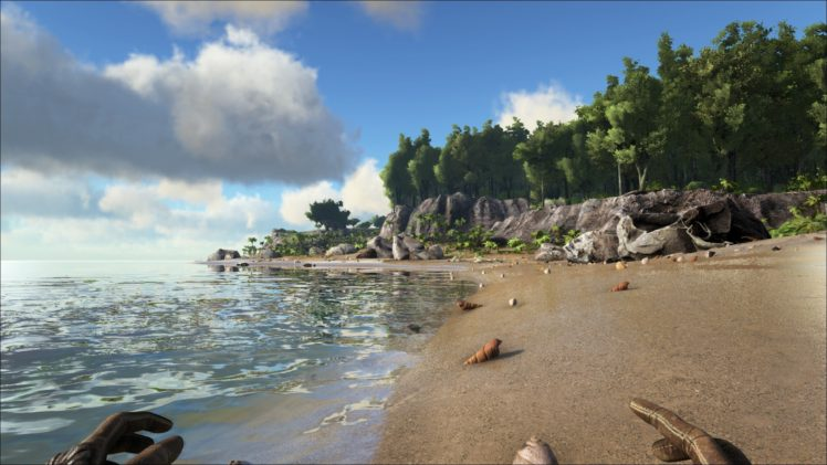 video games, Ark HD Wallpaper Desktop Background