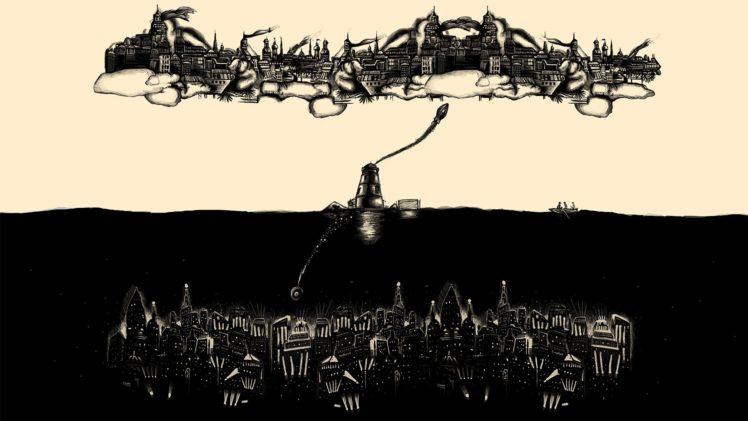 music, Monochrome, BioShock, Video