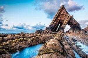 Blackchurch Rock, Rock, Sky, Clouds, Nature