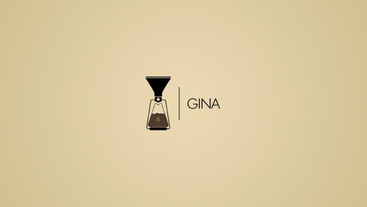 Gina, Mugs, Coffee stains, Coffee, Logo, Goats HD Wallpaper Desktop Background