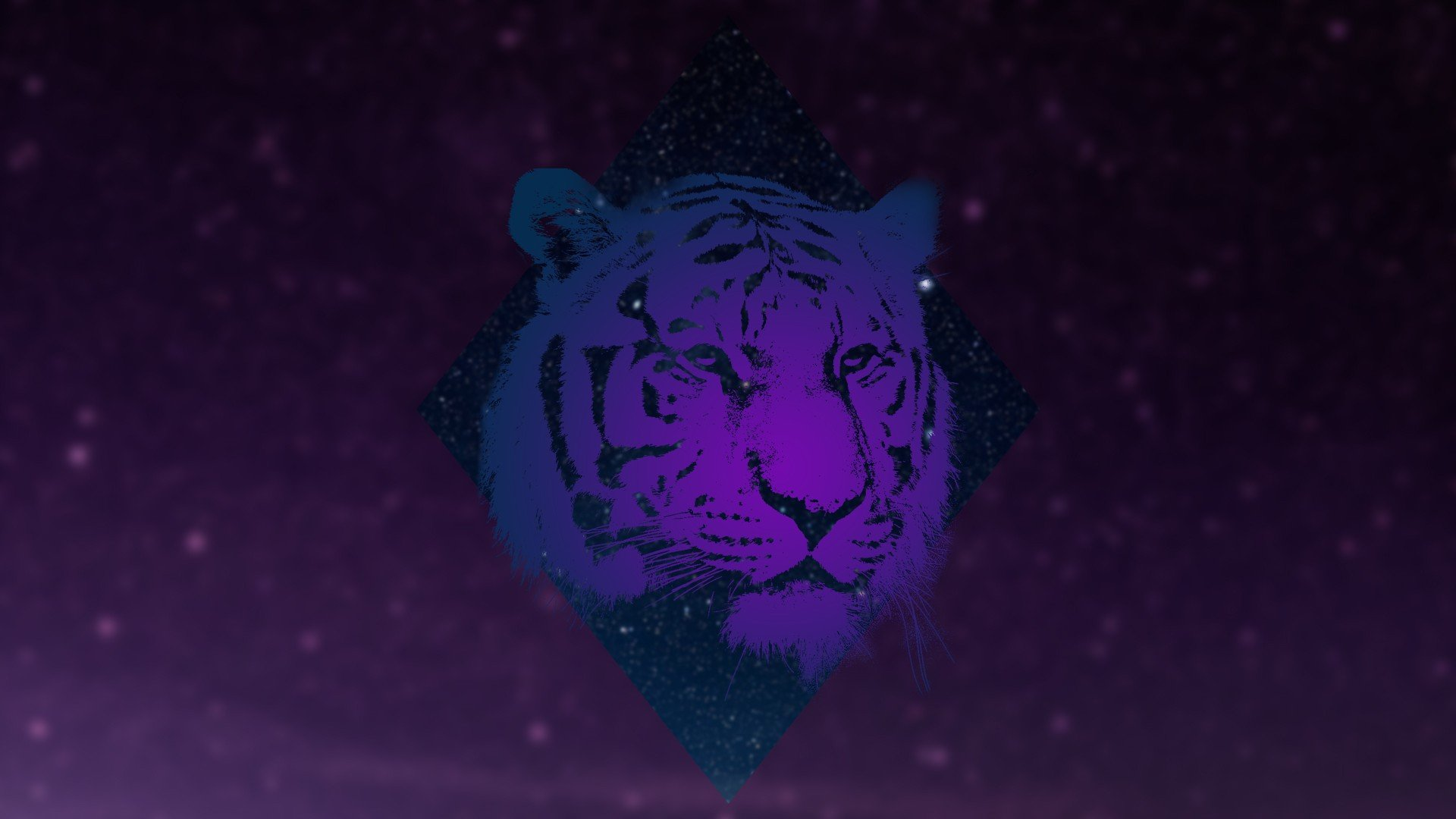 Animals, Tiger, Galaxy HD Wallpapers / Desktop And Mobile