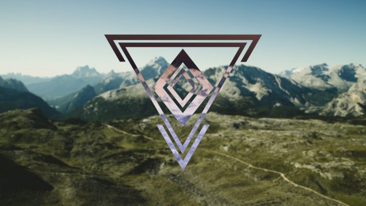 triangle hipster photography geometry hd wallpapers