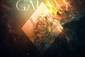 Darth Vader, Galaxy, Star Wars, Space