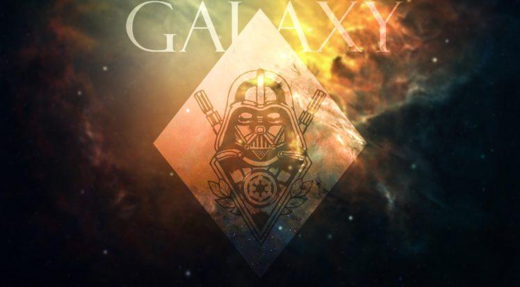 Darth Vader, Galaxy, Star Wars, Space HD Wallpaper Desktop Background