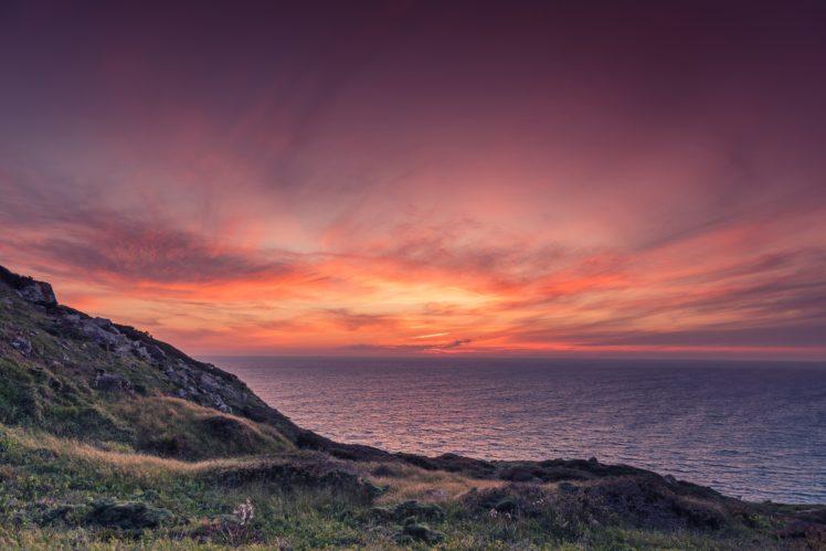 nature, Water, Sunset HD Wallpaper Desktop Background