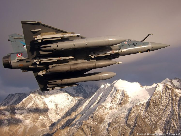 French Air Force Mirage 2000 Hd Wallpapers Desktop And