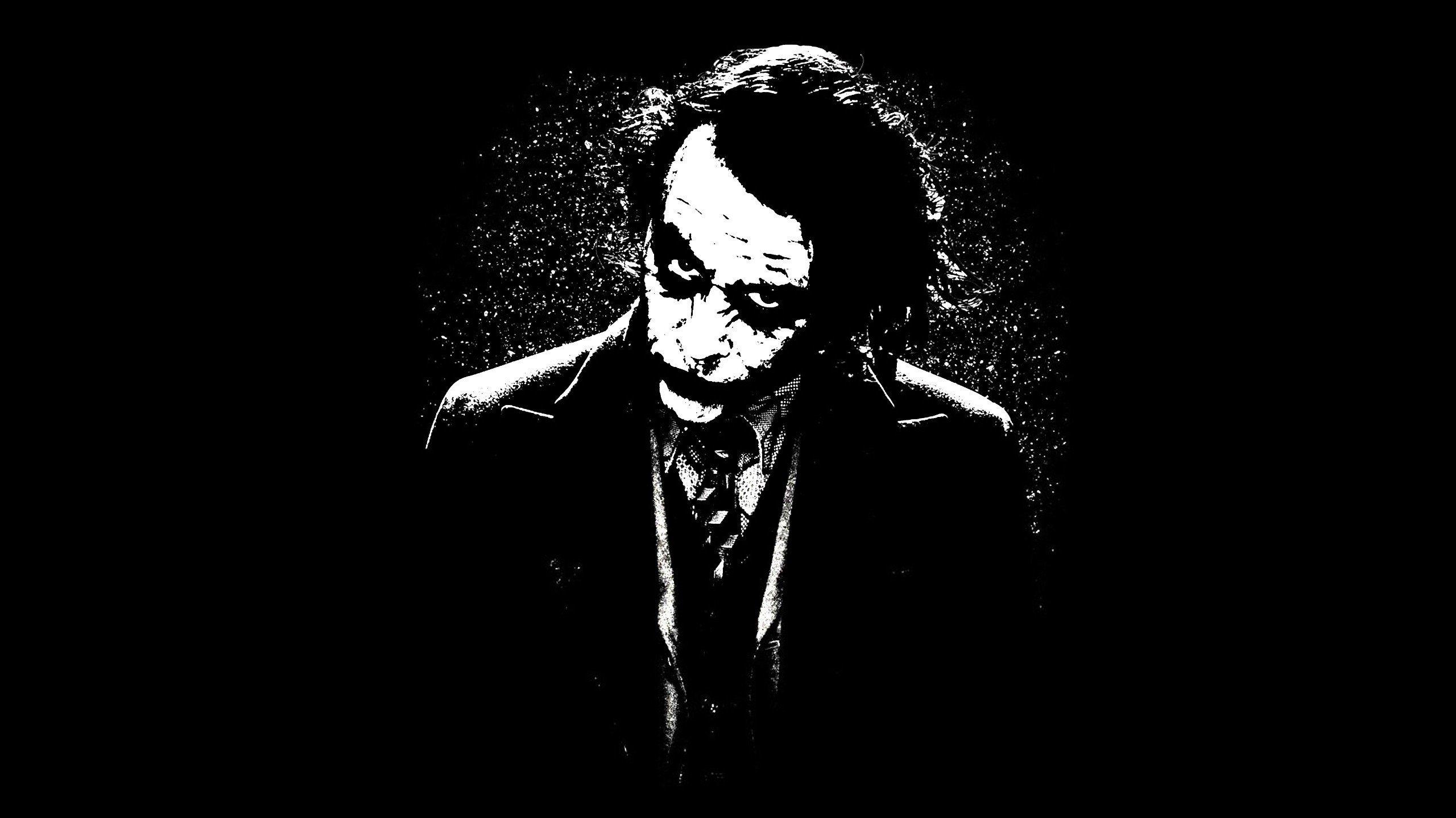Joker, Heath Ledger, Batman, The Dark Knight Wallpaper