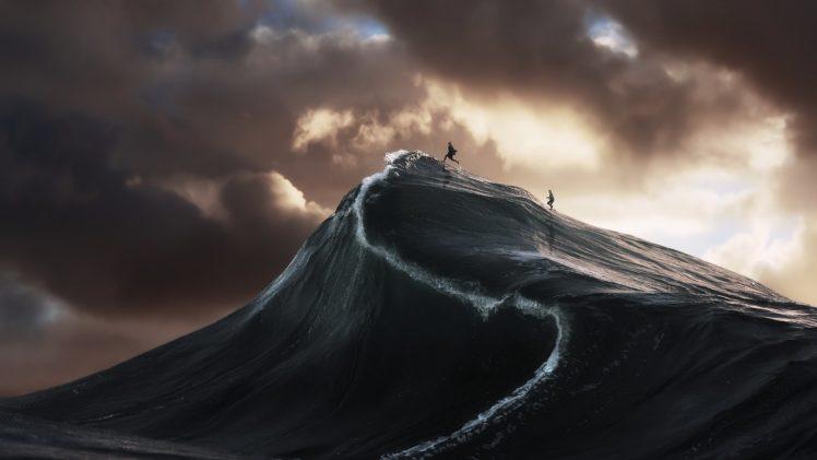 digital art, Sea, 500px HD Wallpaper Desktop Background