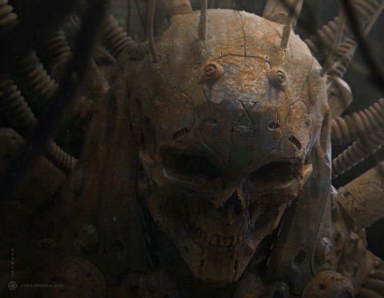 CGI, Skull HD Wallpaper Desktop Background