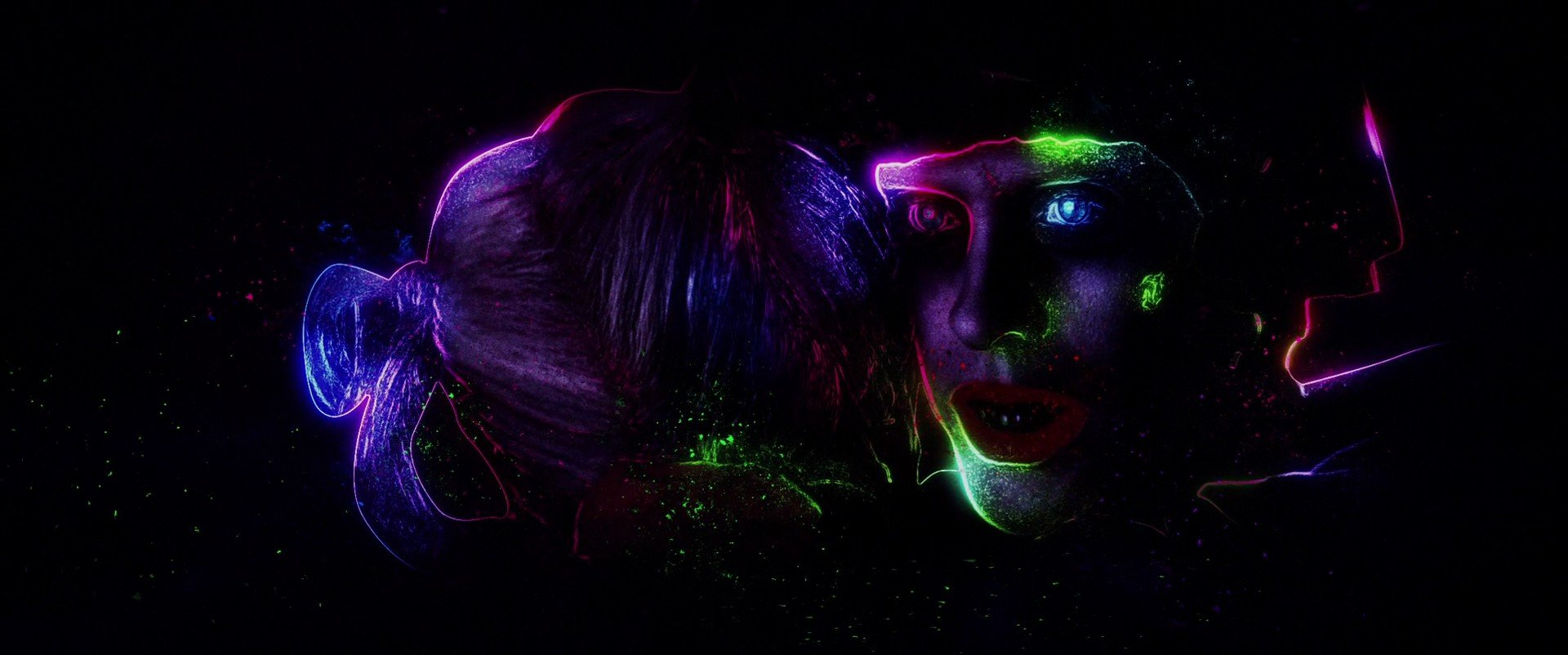 Joker, Face, Suicide Squad, Artwork, Digital art Wallpaper
