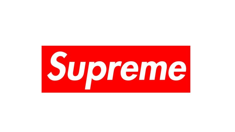 Supreme Brand Fashion Red White 1920 Hd Wallpapers