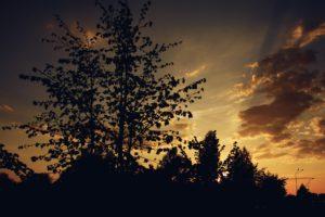dusk, Nature, Sky