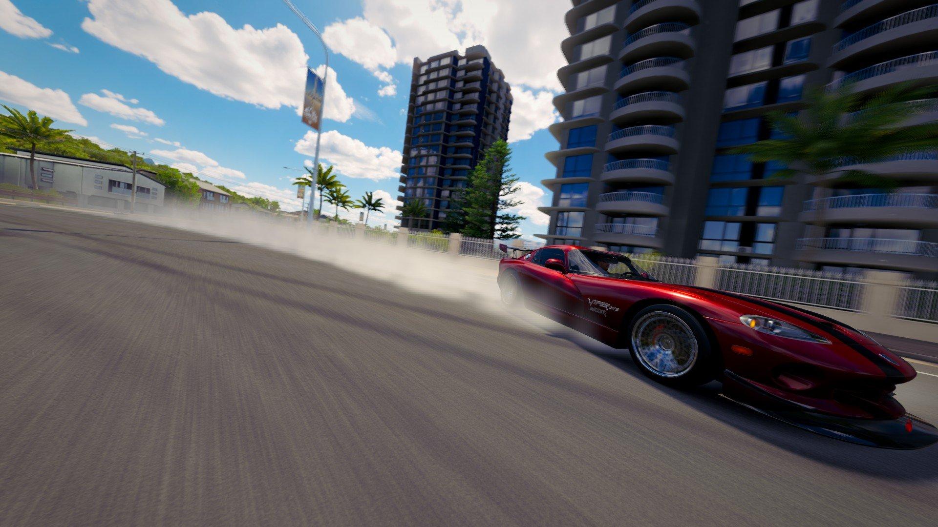forza horizon 3, Drift, Dodge Viper, Video games Wallpaper