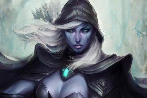 Drow Ranger, Dota 2, Fantasy girl, Fantasy art, Video games