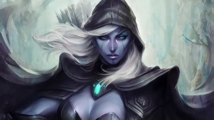 Drow Ranger Dota 2 Fantasy Girl Fantasy Art Video Games Hd