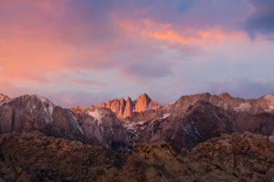 mountains, Nature, Mount Whitney, California, Sierra Nevada