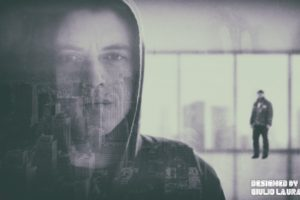 Elliot (Mr. Robot), Rami Malek, Mr. Robot, Fan art, Digital art, New York City, Double exposure