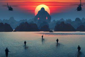 King Kong, Kong: Skull Island, Sunset