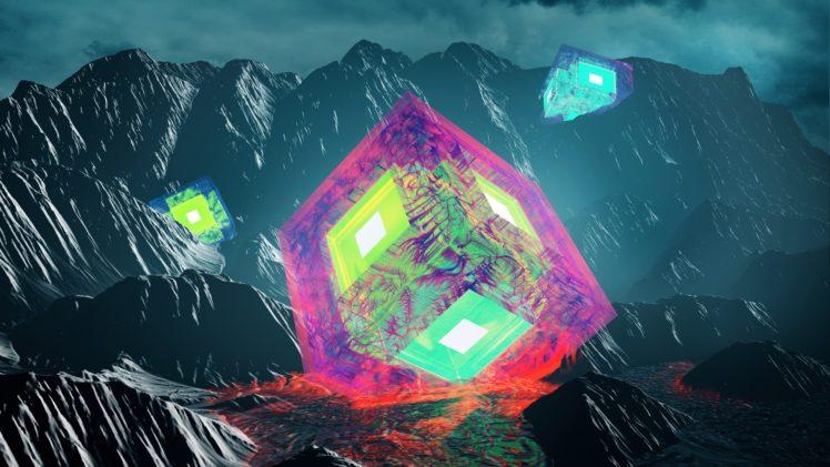 Cinema 4D, Photoshop, Render, 3D, Digital art, Abstract HD Wallpaper Desktop