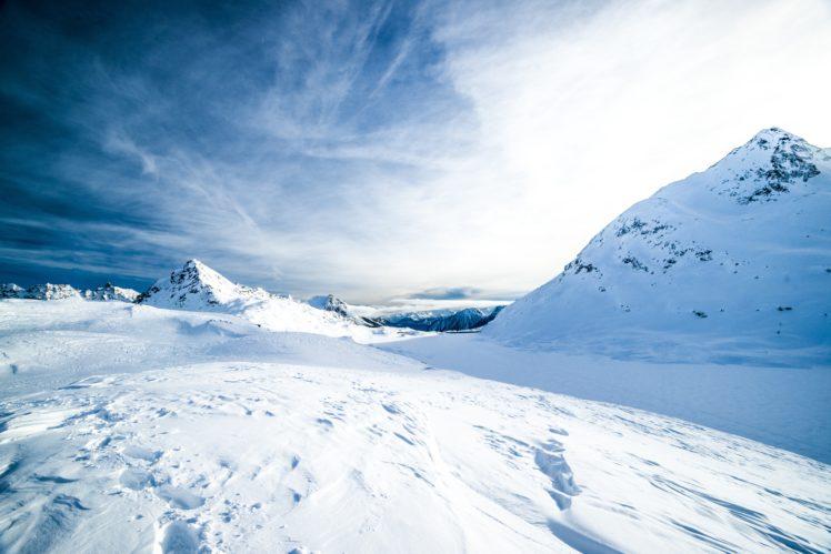 landscape, Snow HD Wallpaper Desktop Background