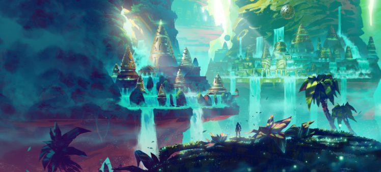 Anton Fadeev, Illustration, Fantasy art HD Wallpaper Desktop Background