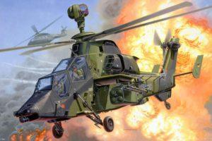 military aircraft, Eurocopter Tiger, Artwork, Vehicle