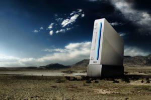 Nintendo Wii, Clouds, Desert