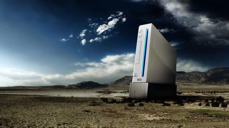 Nintendo Wii, Clouds, Desert HD Wallpaper Desktop Background