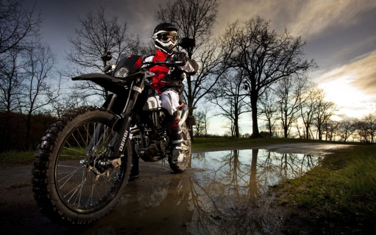 motocross, Water, Helmet HD Wallpaper Desktop Background