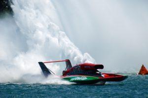 Water Splash, Hydroplane, Speedboat, Boat, Water, Photography