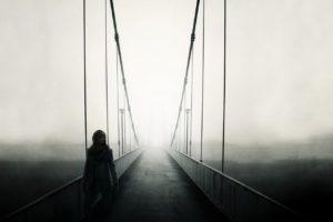 people, Bridge