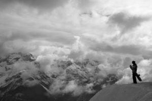 landscape, Sports, Snowboarding, Mountains