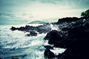 landscape, Waves