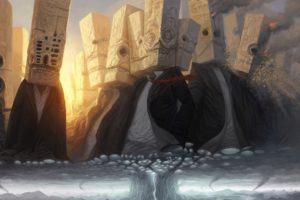 fantasy art, Tornado