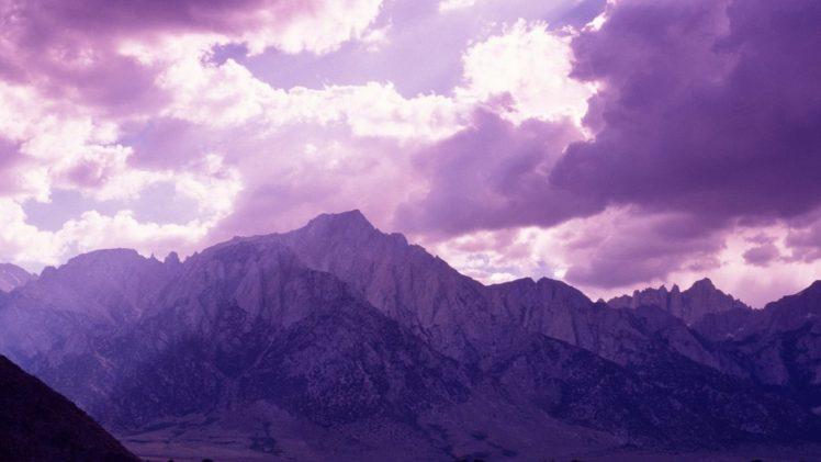 mountains, Clouds HD Wallpaper Desktop Background