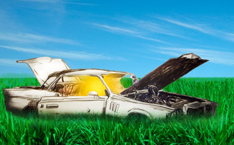 surreal, Car HD Wallpaper Desktop Background