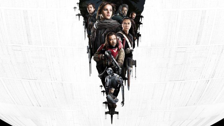 Felicity Jones, Star Wars, Rogue One: A Star Wars Story HD Wallpaper Desktop Background