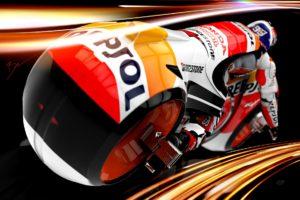 Marc Marquez, Moto GP, Tron, Motorcycle