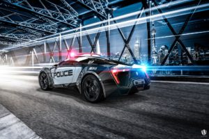 car, Police cars, Lykan hypersport, Need for Speed